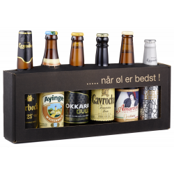 Klosterbryggeriet - Gaveæske 6 x 33 cl Europæiske Øl