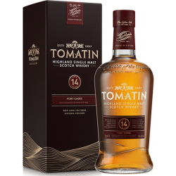 Tomatin - 14 år (2016) Single Highland Malt Scotch Whisky Old Port Finish 46% 70 cl