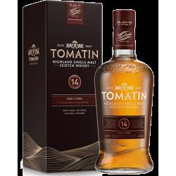 Tomatin - 14 år (2016) Single Highland Malt Scotch Whisky Old Port Finish 46% 70 cl