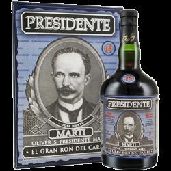 Presidente - 15 år El Gran Ron del Caribe 40% 70 cl