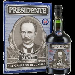 Presidente - 23 år El Gran Ron del Caribe 40% 70 cl