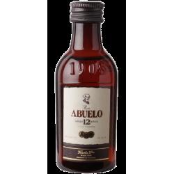 Ron Abuelo - 12 år Anejo Gran Reserva Rum Panama 40% 5 cl
