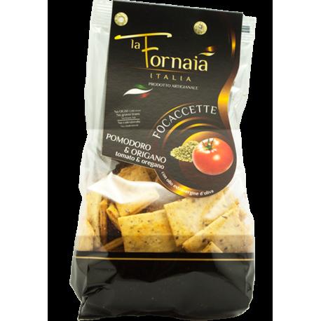 La Fornaia - Focaccette med tomat & oregano