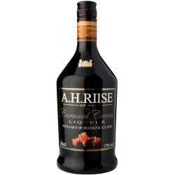 A.H. Riise - Caramel Cream Liqueur Rum & Sea Salt 17% 70 cl