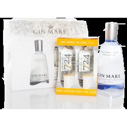 Gin Mare - Gaveæske med 4 Tonic
