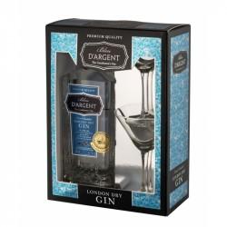 Bleu D´Argant - London dry gin, Gaveboks