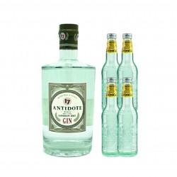 Antidode - London dry gin med 4 Tonic