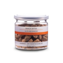 Snack bites - Almonds Valencia Dry Roasted & Salted
