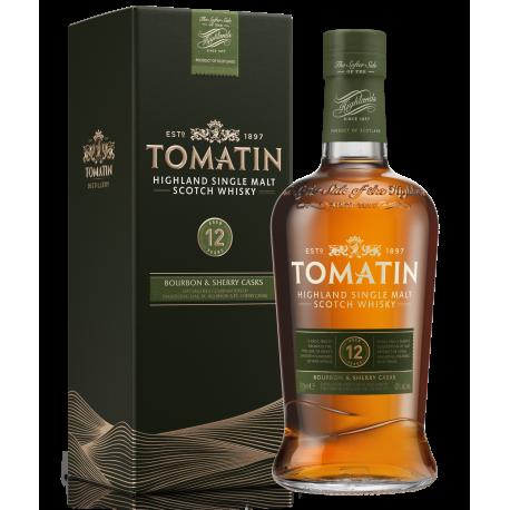 Tomatin 12 års Single Malt