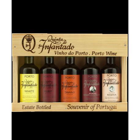 Quinta do Infantado Porto Miniatures - Portvin gaveæske
